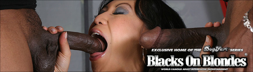 Kerry Louise Black Cock Gagging
