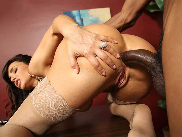image Bibi noel gets her holes filled with black cock