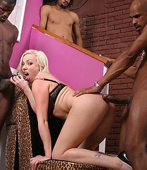 Adrianna Nicole Blacks On Blondes