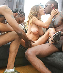 Interracial Porn Alice Romain