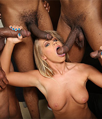 Britney Young Blacks On Blondes