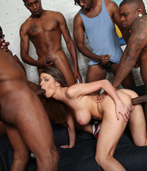 Brooklyn Chase Interracial Porn