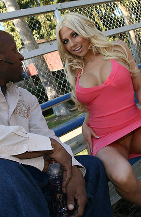 Christie Stevens Blacks On Blondes