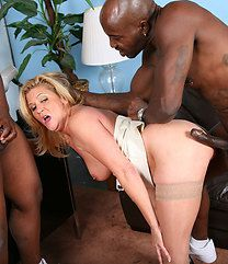 Ginger Lynn Black Cock