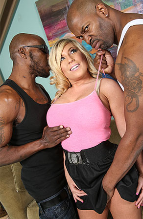 Heidi Hollywood Blacks On Blondes