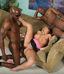 Heidi Hollywood Interracial Porn