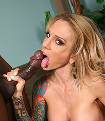 Blacks On Blondes Sarah Jessie