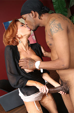 Veronica Avluv Black Cock Slut